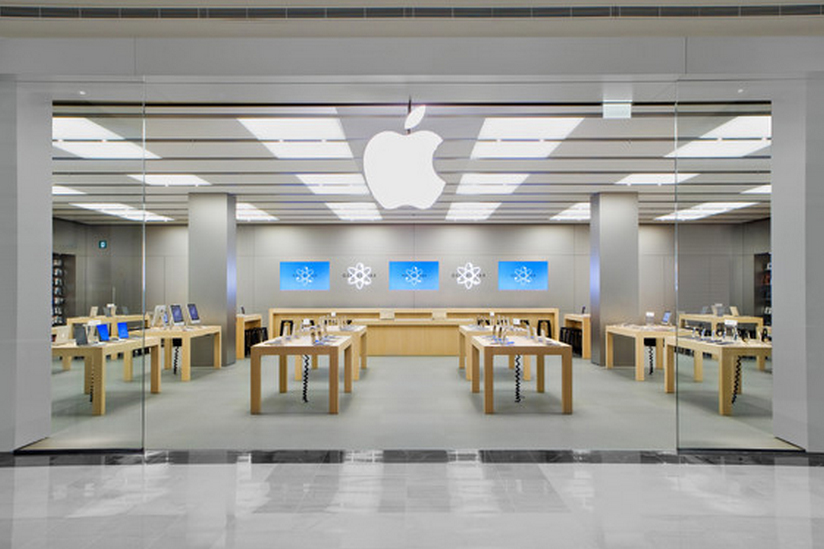 Apple creates an experience through their retail outlets.
