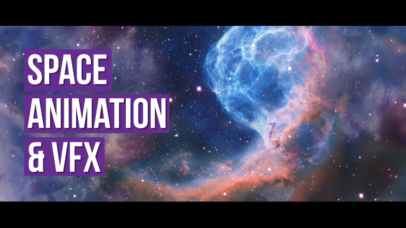 Space animation VFX Company Canada
