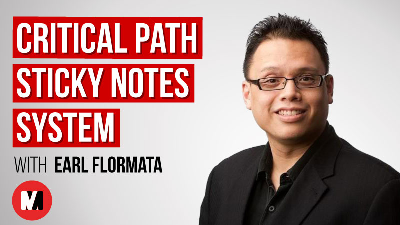 Critical Path Sticky Notes System Earl Flormata